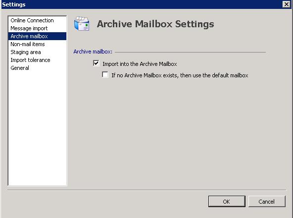 Migrating from Symantec Enterprise Vault to Exchange Archive Mailbox |